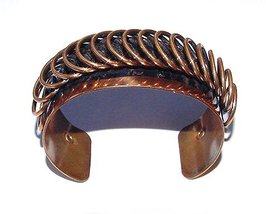 Signed Renoir 1950s Wide Copper Cuff Bracelet - $59.95