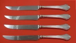French Regency by Wallace Sterling Silver Steak Knife Set 4pc Texas Sized Custom - $409.00