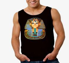 King Tut Mask Egyptian Pharaoh Men's Tank Top - $12.00