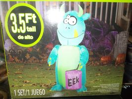 Halloween Airblown Monster Inflatable 3.5 ft NIB - $32.99