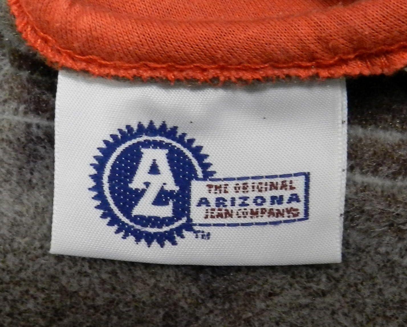Arizona Burnt Orange Gray Reversible Childrens Kids Unisex Vest M 10-12 Used
