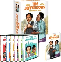 THE JEFFERSONS ALL SEASON 1-11 Complete Collection DVD Set TV Show Serie... - $188.09