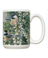Springtime Jewel Chickadee 15 oz Mug - $14.99