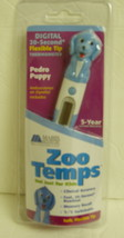 Mabis Zoo Temps Thermometer Pedro Puppy 20 Seconds Baby Shower Digital New  - $9.94