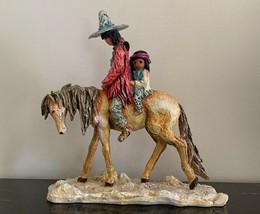 DeGrazia Goebel 1999 Navajo Family Padre Numbered CC9906 Sculpture - $199.00