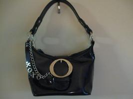 XOXO Dark Navy Blue Paten bag (NEW) image 2