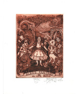 Alice's Fantasy  -John Anthony Miller Giclee pr... - $25.00