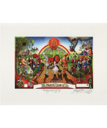 The Magical Land of Oz  -John Anthony Miller Giclee print (signed) - $25.00