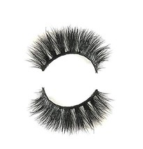 Long Cross 3D Mink Eyelashes Makeup Natural Thick Strip Lashes, Veer Siberian Fu - $24.56