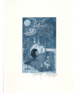 The Guardian Angel -John Anthony Miller Giclee print (signed) - $25.00