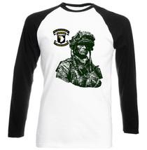 101 St Airborne Division    Cotton Black Sleeved Baseball T Shirt  S M L Xl Xxl - $37.94