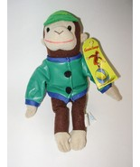 Curious George Rides a Bike Monkey Plush Stuffe... - $14.84