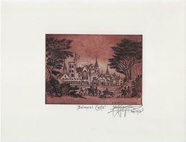 Balmoral Castle -John Anthony Miller Giclee print (signed)