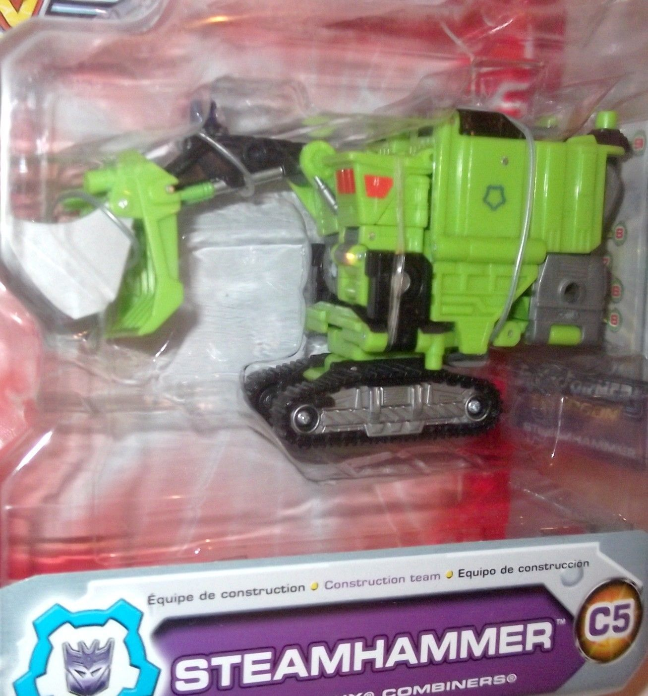 Transformers Energon STEAMHAMMER DELUXE Hasbro figure MOC sealed loose or carded