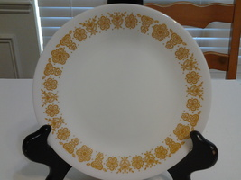 """Corelle (Lot of 2)  Butterfly Gold  6.75"""" Bread Plates,VG - $7.99"""