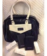 Cosmetic Bag Set - Signature Lipstick Caps, Folding Mirror Stand  - $22.00