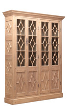 Diamond  Pine Wood Bookcase,Cabinet,91'' Tall. - $5,100.00