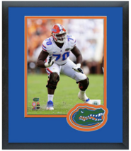 D.J. Humphries 2014 Florida Gators -11 x 14 Team Logo Matted/Framed Photo - $43.55