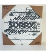 Hasbro Sorry! Board Game Rustic Wooden Series Edition Gaming New In Package - $27.08
