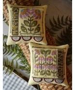 Garden Duet cross stitch chartpack Hands On Design - $9.00