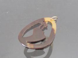 Vintage Jewelry Tortoise Charm Pendant  - $12.00