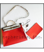 AUTH BNIB Hermes HERBAG ZIP PM 31 Bag ROUGE VEN... - $3,500.00