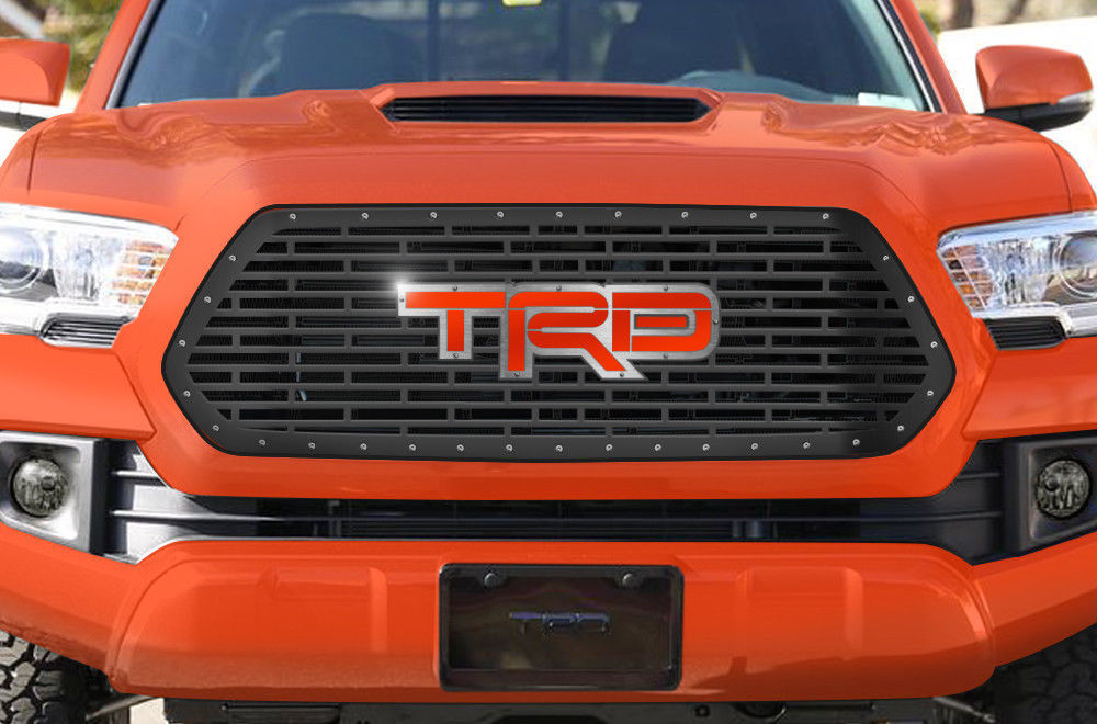 Custom steel grille for  toyota tacoma quot trd