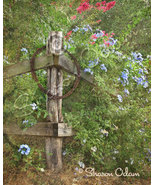 Rustic Country Fence Home Decor Print - $12.50