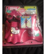 Hello Kitty Swim Gear Mask Goggles Fins Gloves New Sealed Pink Girls Deluxe - $24.99