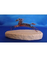 LAZART PONY WILD HORSE STALLION COLLECTIBLE SCULPTURE SANDSTONE - $19.99
