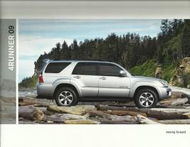 2009 Toyota 4RUNNER sales brochure catalog 09 US 4 Runner - $9.00