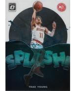 Trae Young Donruss Optic 19-20 #2 Splash Atlanta Hawks - $1.25