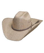 Bullhide Justin Moore Point At You 50X Sensu Straw Cowboy Truman Crown N... - £46.65 GBP
