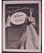 1948 La Tausca Deltah Simulated Pearls AD Jewel... - $15.95