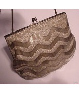 WALBORG STUNNING EVENING BAG Vtg - $53.00