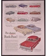 1952 FORD For Choice, Fords First Convertibles Station Wagon Cars origin... - $13.50