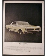 Pontiac 1966 Tempest Custom Convertible Sprint Automobile Auto Car Print Ad - $12.99