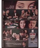 1966 Vaseline Hair Tonic Ad  What kind of Man U... - $11.29