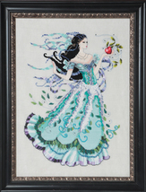 Biancabella MB130 FULL LINEN KIT cross stitch M... - $57.95