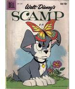 Vintage Walt Disney Dell Comic Book -Scamp- Schwinn Panther Bicycle Ad o... - $9.50