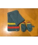 Boys Baby Children's Place Gray Winter Scarf and Mitten Set Size 6-12 Mo... - £7.25 GBP