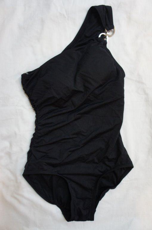 ab2e8097421 MIchael Kors Swim One Piece Sz 6 Black and 50 similar items. 57