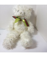 "White Teddy Bear Curlilocks Russ Plush Stuffed Animal 17"" - $19.34"