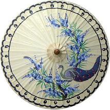 "35"" Diameter Perching Peacock Fashion Umbrellas - $28.95"