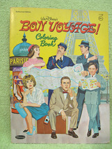 DISNEY BON VOYAGE Movie VINTAGE Coloring Book 1962 FRED MACMURRAY Family... - $14.99