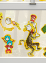 Dr. Seuss Window Decorations; Dr. Seuss Stickers; Dr. Seuss birthday/sho... - $10.84