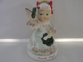 Vintage Napco March Angel Figurine, Shamrocks, ... - $20.00