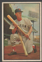 Boston Red Sox Walter Hoot Evers 1953 Bowman Color Baseball Card 25 vg/ex - $15.99
