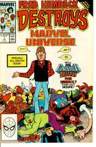 FRED HEMBECK DESTROYS THE MARVEL UNIVERSE #1 NM! - $1.50