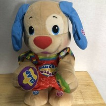 Fisher Price 2011 Dance And Wiggle Puppy Talks Dance ABC 123 Educational  - $26.99